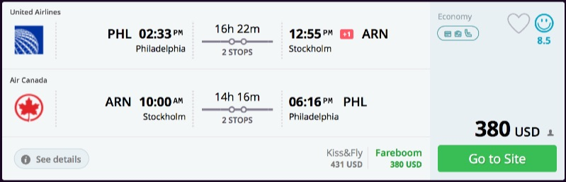 Philadelphia_to_Stockholm_flights_-_momondo