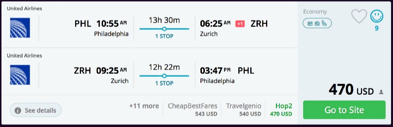 Philadelphia_to_Zurich_flights_-_momondo