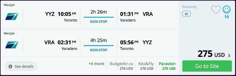 Toronto_to_Varadero_flights_-_momondo