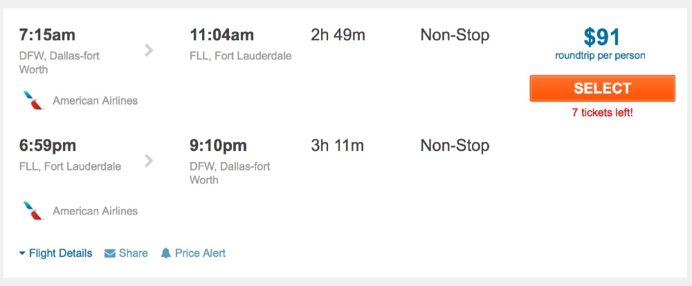 80__off_cheap_flights_from_Dallas-fort_Worth_to_Fort_Lauderdale_-_FlightHub_com