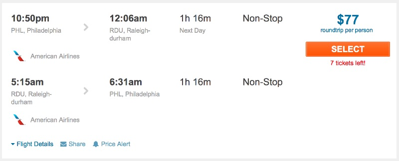80__off_cheap_flights_from_Philadelphia_to_Raleigh-durham_-_FlightHub_com