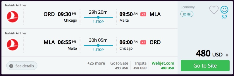 Chicago_to_Malta_flights_-_momondo