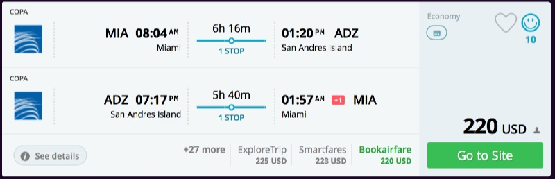 Miami_to_San_Andres_Island_flights_-_momondo