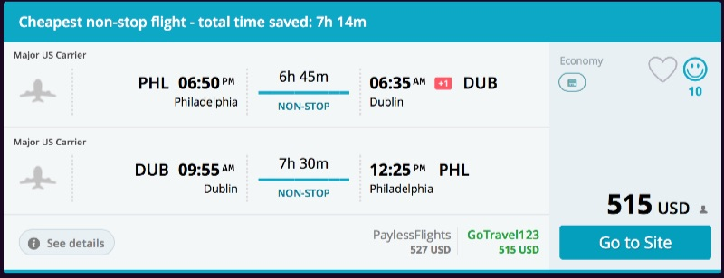 Philadelphia_to_Dublin_flights