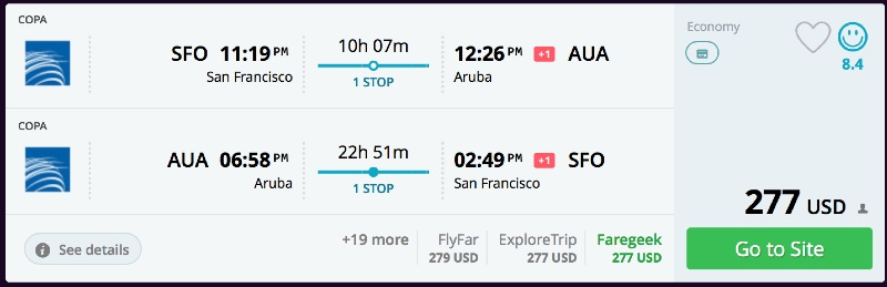 San_Francisco_to_Aruba_flights_-_momondo
