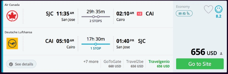San_Jose_to_Cairo_flights_-_momondo