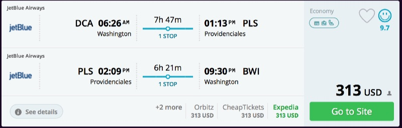 Washington_DC_to_Providenciales_flights_-_momondo