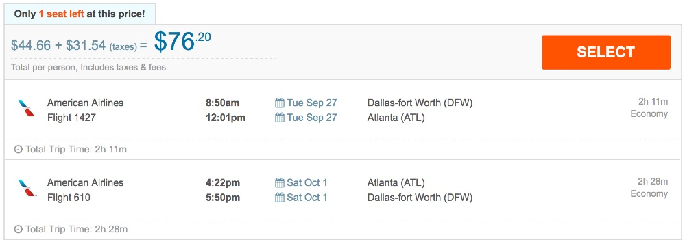 80__off_cheap_flights_from_Dallas-fort_Worth_to_Atlanta_-_FlightHub_com