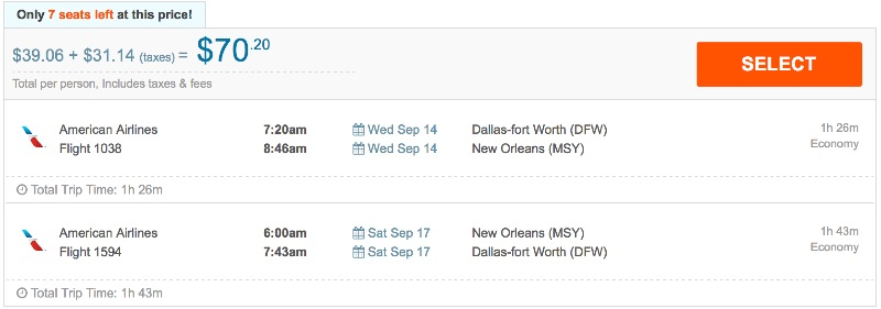 80__off_cheap_flights_from_Dallas-fort_Worth_to_New_Orleans_-_FlightHub_com