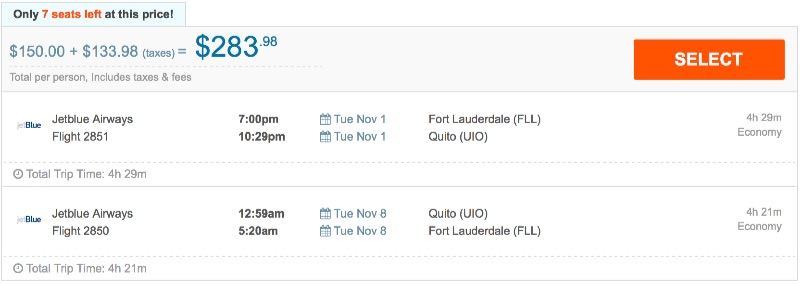 80__off_cheap_flights_from_Fort_Lauderdale_to_Quito_-_FlightHub_com