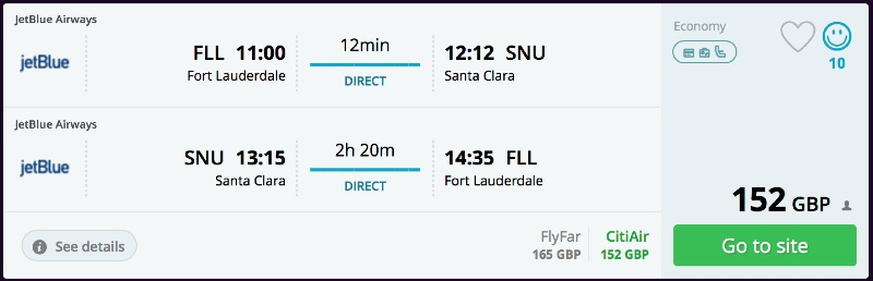 Fort_Lauderdale_to_Santa_Clara_flights_-_momondo