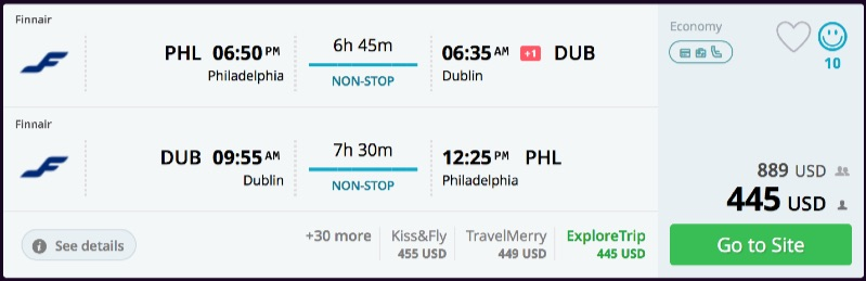 Philadelphia_to_Dublin