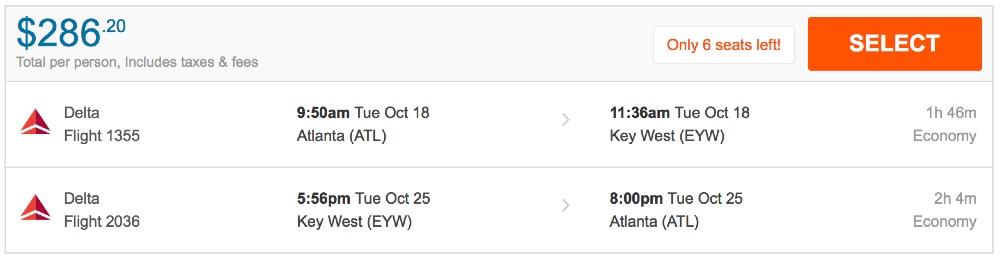 80__off_cheap_flights_from_Atlanta_to_Key_West_-_FlightHub_com