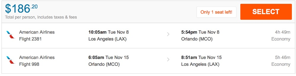80__off_cheap_flights_from_Los_Angeles_to_Orlando_-_FlightHub_com