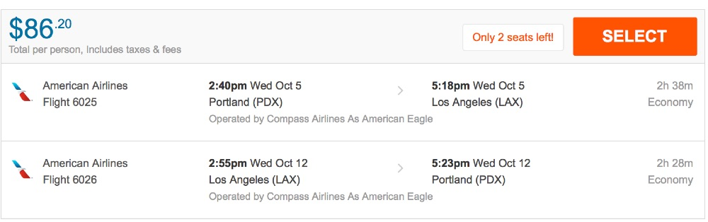 80__off_cheap_flights_from_Portland_to_Los_Angeles_-_FlightHub_com