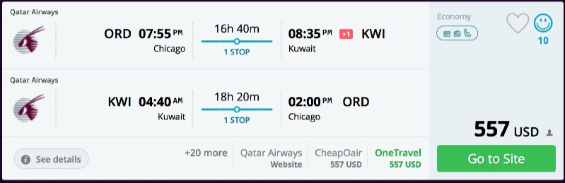 Chicago_to_Kuwait_flights_-_qatar