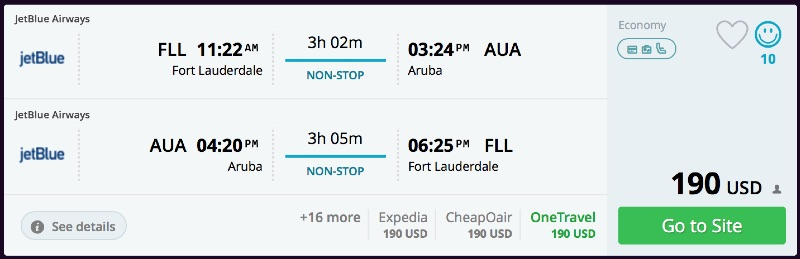 Fort_Lauderdale_to_Aruba_flights_-_momondo