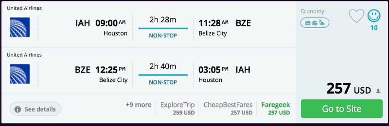 Houston_to_Belize_City_flights_-_momondo