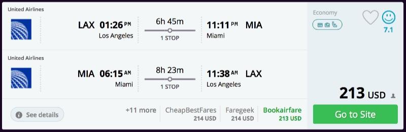 Los_Angeles_to_Miami_flights_-_momondo