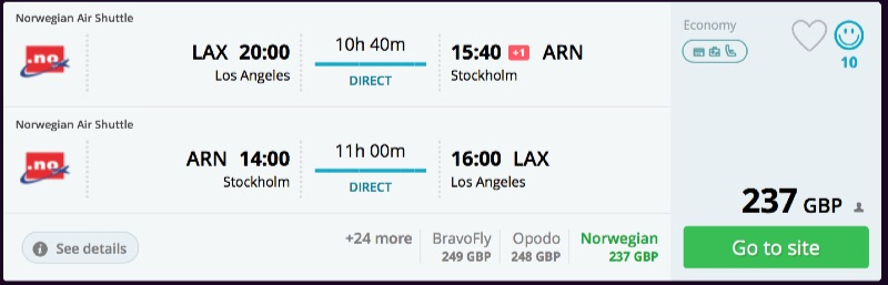 Los_Angeles_to_Stockholm_flights_-_momondo