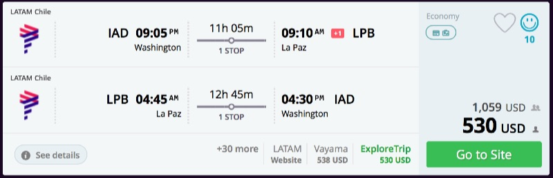 Washington_DC_to_La_Paz_flights_-_momondo