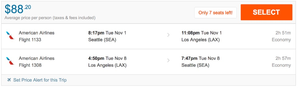 80__off_cheap_flights_from_Seattle_to_Los_Angeles_-_FlightHub_com