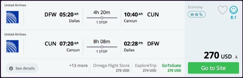 Dallas_to_Cancun_flights_-_momondo
