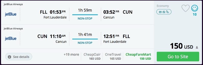 Fort_Lauderdale_to_Cancun_flights_-_momondo