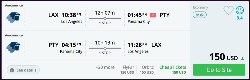 Los_Angeles_to_Panama_City_flights_-_momondo