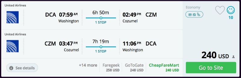Washington_DC_to_Cozumel_flights_-_momondo