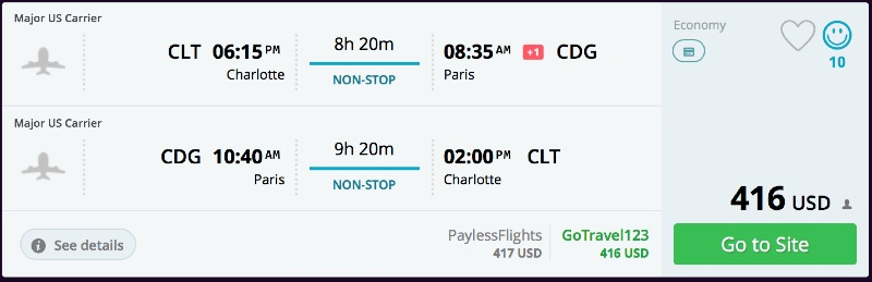 Charlotte_to_Paris_flights_-_momondo