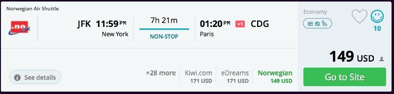 Around the world for 1336 paris helsinki singapore for New york to paris flights