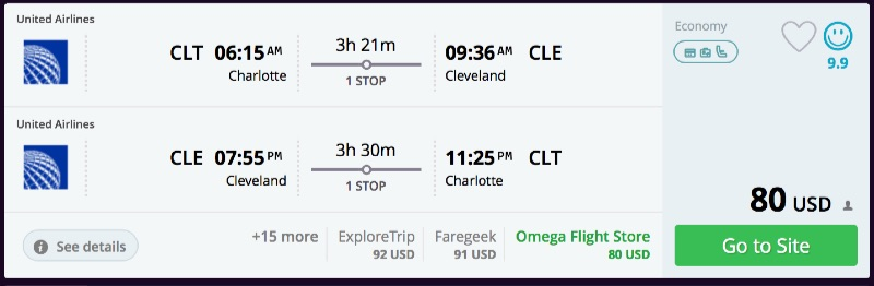 Charlotte_to_Cleveland_flights_-_momondo