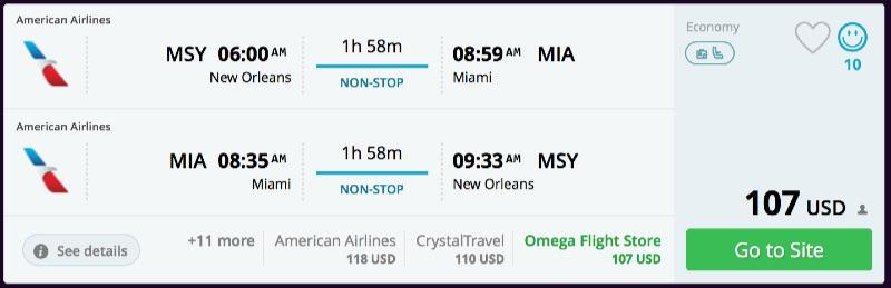 New_Orleans_to_Miami_flights_-_momondo