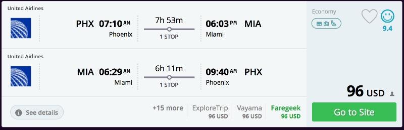 Phoenix_to_Miami_flights_-_momondo