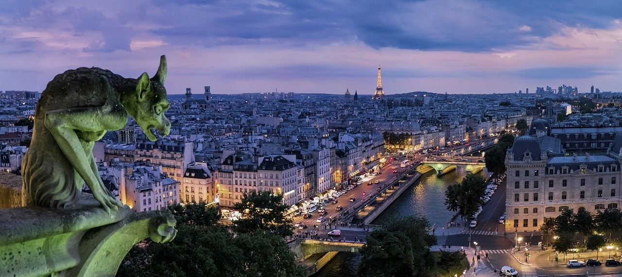 Atlanta Baltimore Or Washington Dc To Paris France From