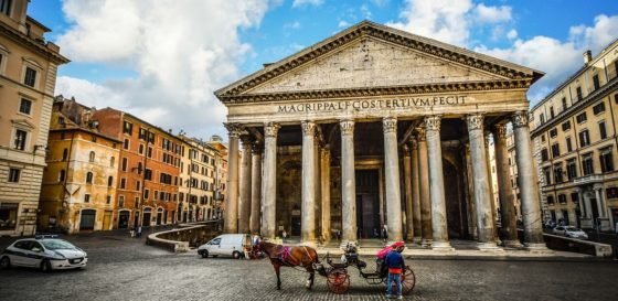Rome (Italy) from the US from $377 round-trip