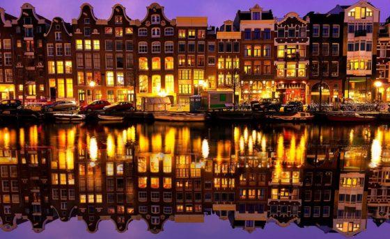 Newark to Amsterdam, Netherlandsfrom $386 R/T
