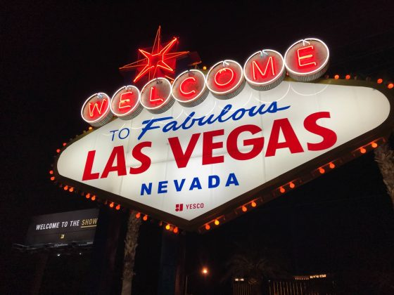 Discounted nonstop flights to Las Vegas via major airlines; fares from $28 one-way ($56 R/T)